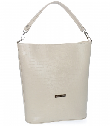 Biela kabelka S5 - Grosso