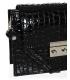 čierna vzorovaná crossbody kabelka C18SM063black - GROSSO