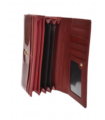 Női vörös lakkozott GROSSO pénztárca