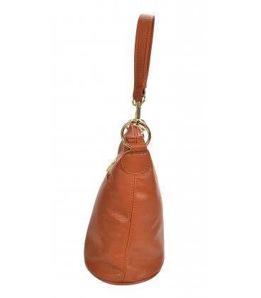 Hnedá crossbody kabelka so strapcom 20M006browntassel GROSSO