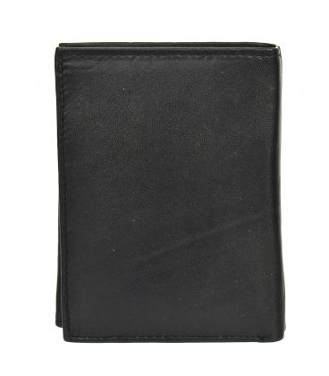 Férfi fekete bőr egyszerű pénztárca GROSSO ZM-77-123